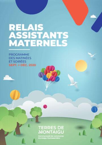 Image : Couverture - Mâtinées Rencontres & Jeux Septembre/Décembre 2020- Relais Assistants Maternels - Terres de Montaigu