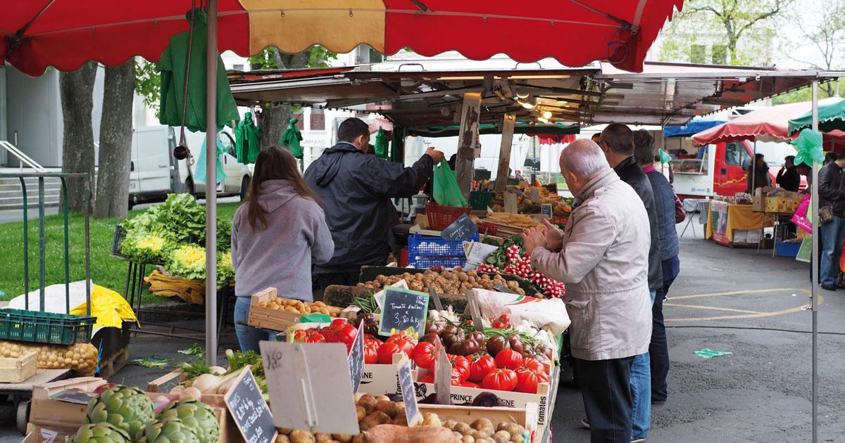 Image - Marché de Montaigu - Montaigu-Vendée