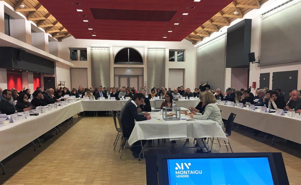 Le conseil municipal de Montaigu-Vendée compte 124 membres
