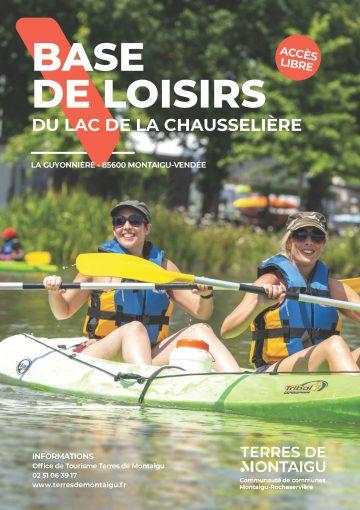 Image : visuel flyer - Base de loisirs de la Chausselière - Terres de Montaigu