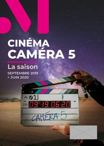 Image : couverture - programme 2019-2020 - Cinéma Caméra 5 - Terres de Montaigu