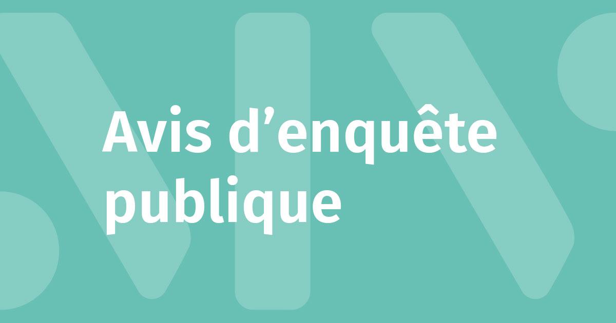 Image : Avis d'enquête publique - Montaigu-Vendée
