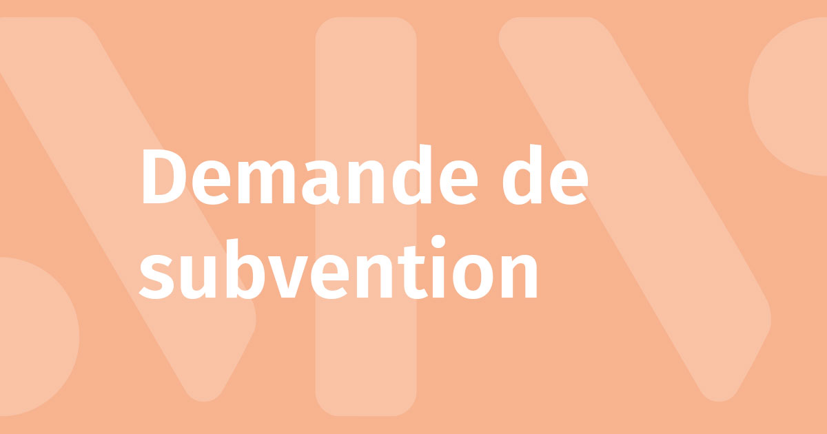 Illustration : Demande de subvention - Démarches et services - Montaigu-Vendée