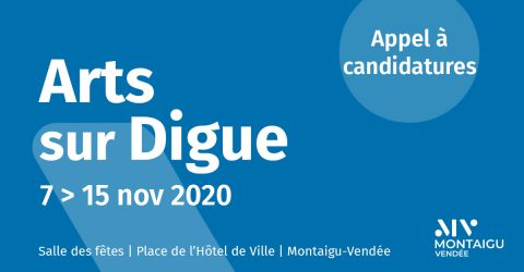 Image : Appel à candidature - Arts sur Digue 2020 - Montaigu-Vendée