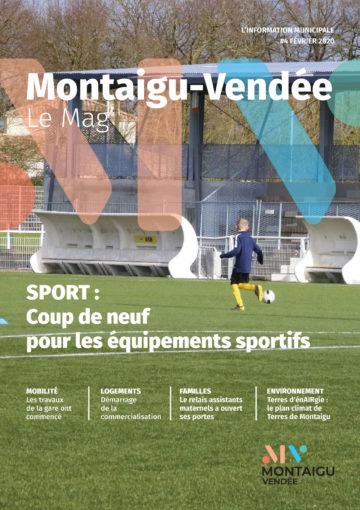 Image : Couverture - Montaigu-Vendée Le Mag' #4 - Montaigu-Vendée