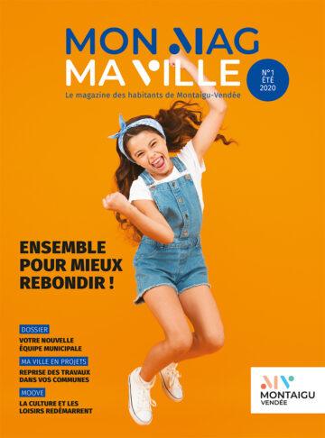 Photo : couverture du magazine Mon Mag Ma Ville - Juin 2020