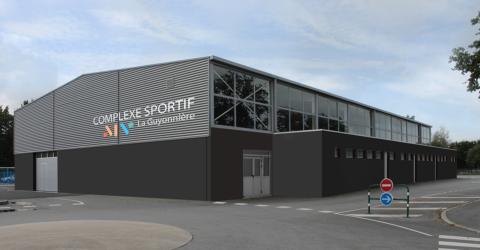 photo : projet de rénovation du complexe sportif de La Guyonnière, Montaigu-Vendée