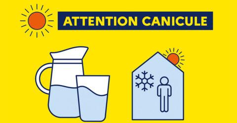 Visuel national : alerte canicule été 2020