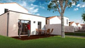 Vue architecte : maisons C3P - Tiersen Architectures