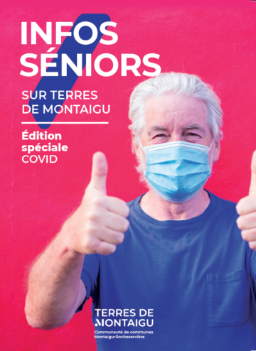 Couverture du guide Infos Séniors pour le premier trimestre 2021