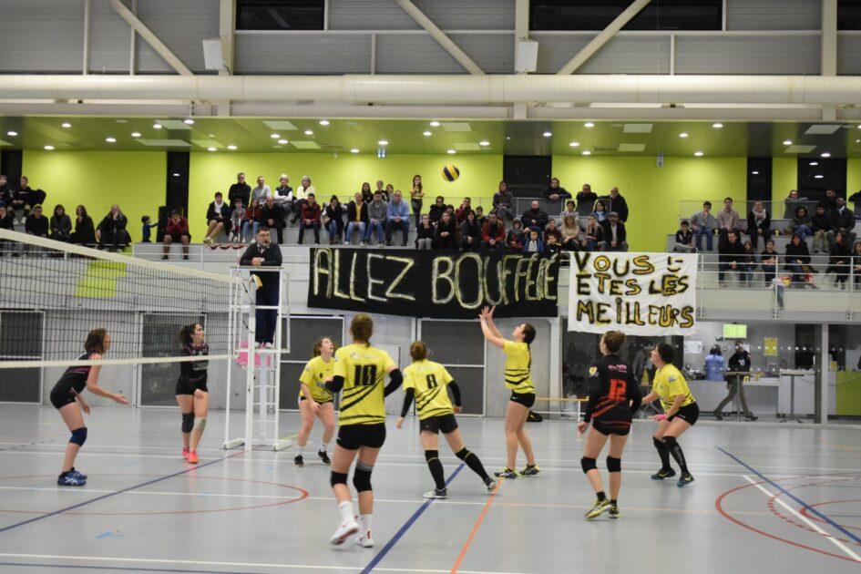 Image d'un match de volley à Boufféré