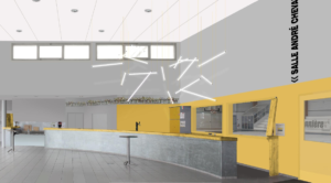 Image du futur hall - salle de sport de la Guyonnière