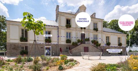 Travaux rénovation énergétique Hôtel de Ville Montaigu