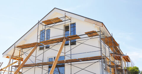Photo d'illustration : travaux de rénovation sur une maison