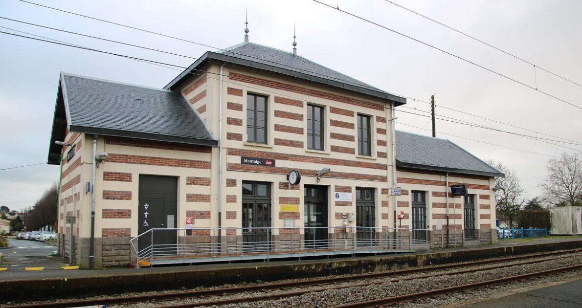 Gare Montaigu-Vendée - réouverture du batiment voyageurs