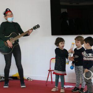 Photo d'enfants à l'accueil de loisirs de Montaigu-Vendée