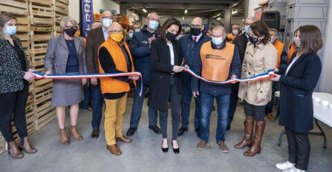 Inauguration de la banque alimentaire de terres de montaigu