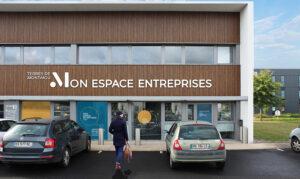 Vue 3D de la façade de Mon Espace Entreprises - Terres de Montaigu