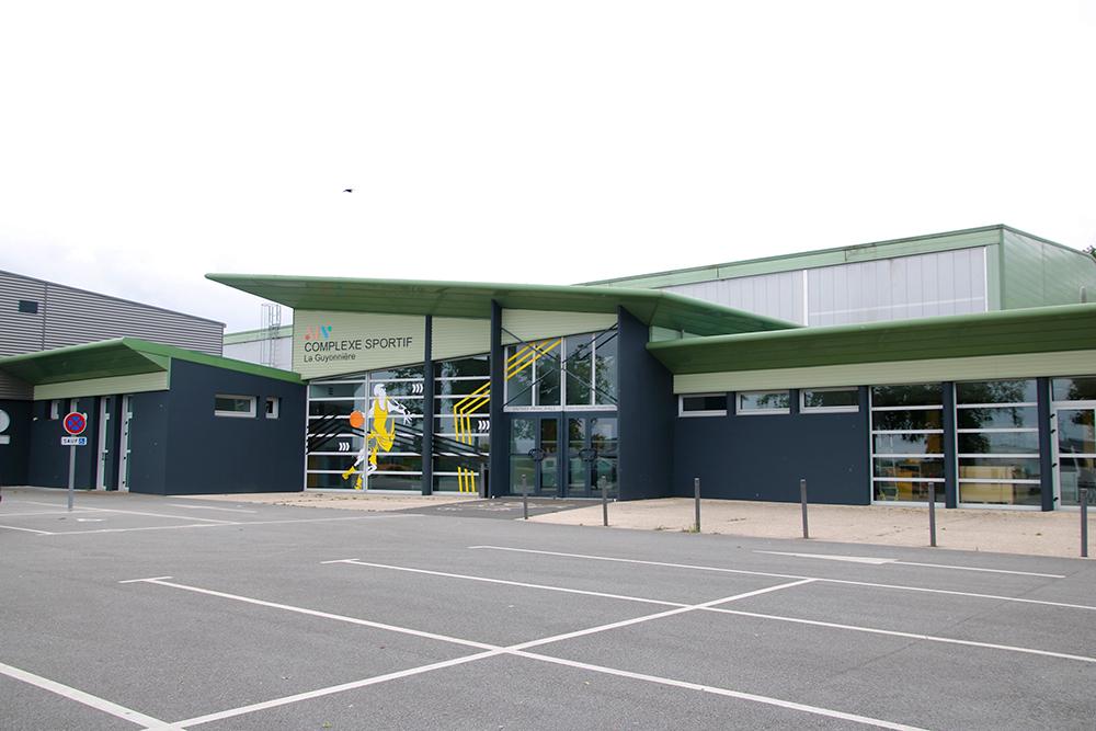 Rénovation du complexe sportif de La Guyonnière : entrée