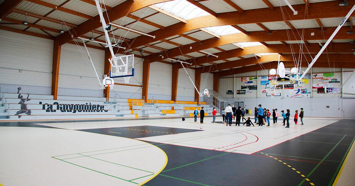 Rénovation du complexe sportif de La Guyonnière : salle André Chevalier