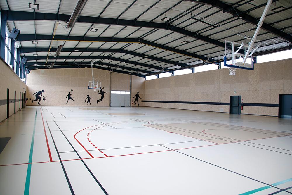 Rénovation du complexe sportif de La Guyonnière : salle Ernest Tesson