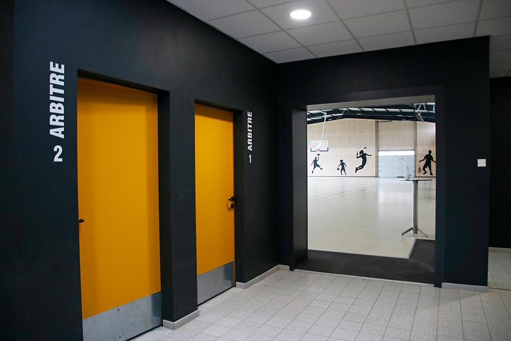 Rénovation du complexe sportif de La Guyonnière : vestiaires