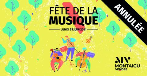 Visuel : fête de la musique 2021