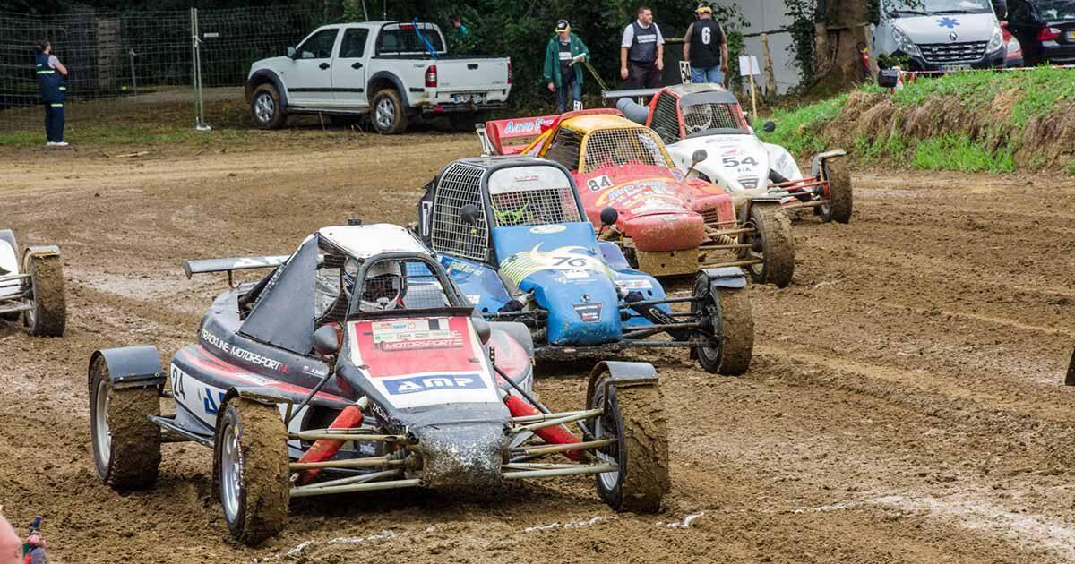Photo : Autocross à Saint-Georges-de-Montaigu