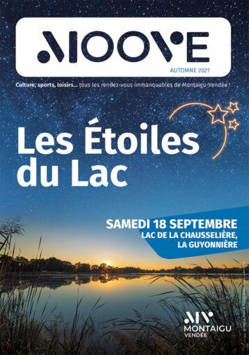 Couverture de l'agenda Moove - Septembre à décembre 2021