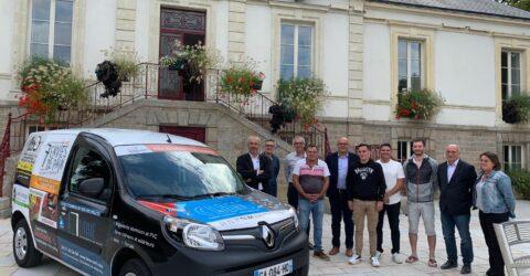 Remise des clés navette électrique de Montaigu-Vendée