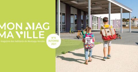 Visuel : magazine Mon Mag Ma Ville n°6 - Automne 2021